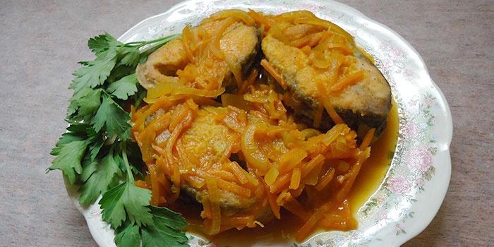 Маринад для жареной рыбы с уксусом