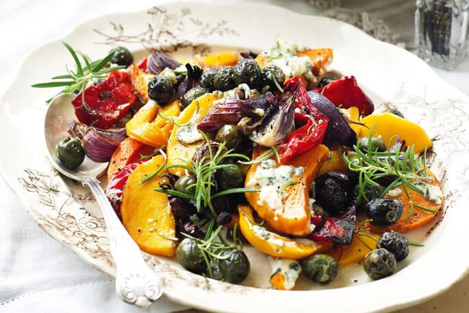 Запеченные овощи в духовке: рецепты с фото пошагово 94