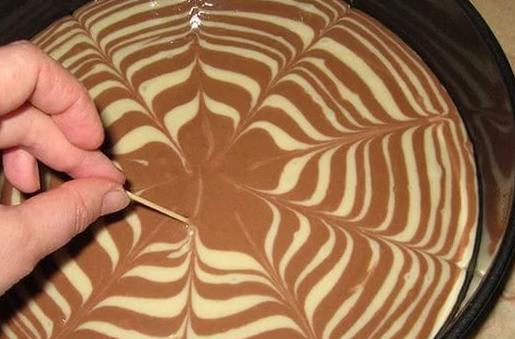 Рецепт торт зебра рецепт с фото