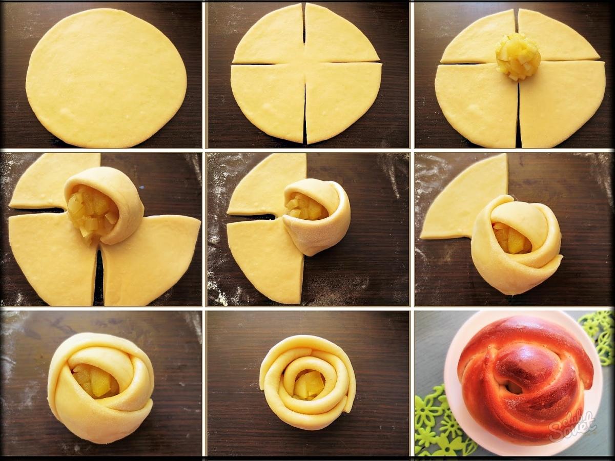 Как сделать красивую форму для пирожков