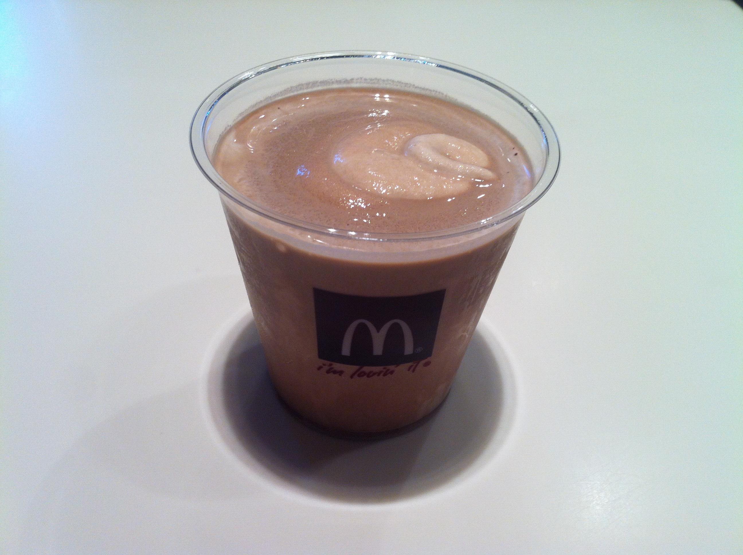 Сколько калорий в молочном коктейле из макдональдса